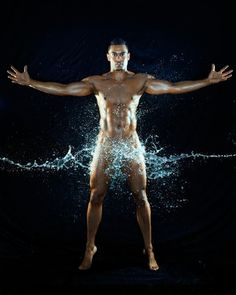 Miami Marlins outfielder Giancarlo Stanton let it all hang out in the 2013 Body Issue.