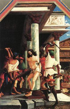 The Flagellation of Christ by Albrecht Altdorfer
