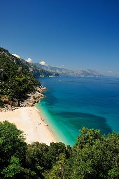 """""""Cala Sisine"""" in Baunei: another wonderful beach in Sardinia. Italy Vacation, Vacation Spots, Italy Travel, Vacation Packages, Sardinia Holidays, Italy Holidays, Places Around The World, Travel Around The World, Places To Travel"""