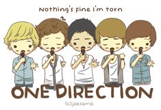 one direction cartoon | One Direction Cartoon Form Twitpic Heart - funny anime gif #8 ...