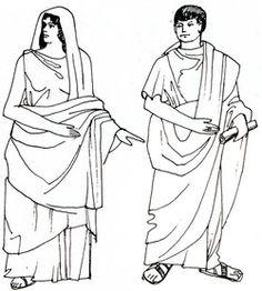 Romeinse kleding Een statussymbool Kleding zegt iets over degene die het draagt; helemaal in de tijd van de Romeinen was dat zo. Voor de Romeinen was kleding namelijk een statussymbool: aan de stoffen en versiering kon je zien hoe rijk of arm iemand was.