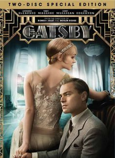 'The Great Gatsby' on dvd
