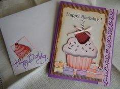 This Cupcake is for you Birthday Card by balsampondsdesign on Etsy