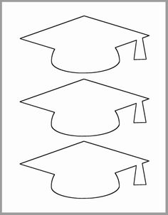 Graduation Cap Template-Printable Template-Grad Party Decor-Graduation Advice Cards-Graduation Cutout-Large Grad Caps-DIY Party Decor - Decoration For Home Graduation Cap Clipart, Graduation Templates, Graduation Crafts, Kindergarten Graduation, Graduation Cards Handmade, Graduation Invitations, Graduation Party Planning, Handmade Cards, Graduation Quotes