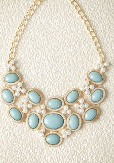 Floral Innocence Necklace 22.99 at shopruche.com. Add a regal touch to any look with this