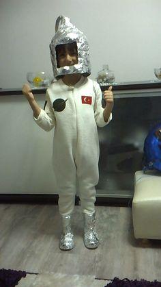 astronot kıyafeti okul öncesi meslek tanıtımı