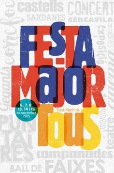 Agenda Cultural - Festa Major de Sant Martí de Tous