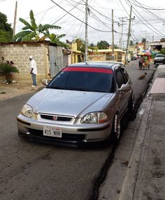 Clean Grey civic Ek4 hatchback 👌