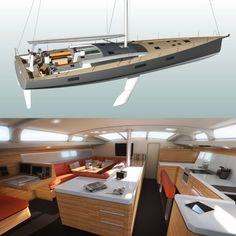 FC² by JFA Yachts and yacht design studio Finot-Conq - a 22m fast-cruiser sailing yacht