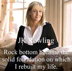 JK Rowling wrote Harry Potter books and encouraged many children to read