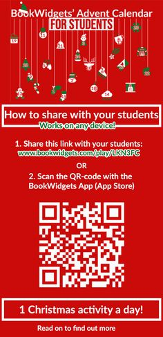 Interactive Classroom Advent Calendar: Counting down to Christmas with your students - BookWidgets Christmas Crossword, Christmas Jigsaw Puzzles, Christmas Puzzle, A Christmas Story, Christmas Diy, Fun Classroom Activities, Christmas Activities, Teacher Hacks, Months In A Year