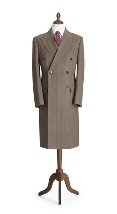 The Crombie 'kings' coat'. A design so called because it was first made for George VI.