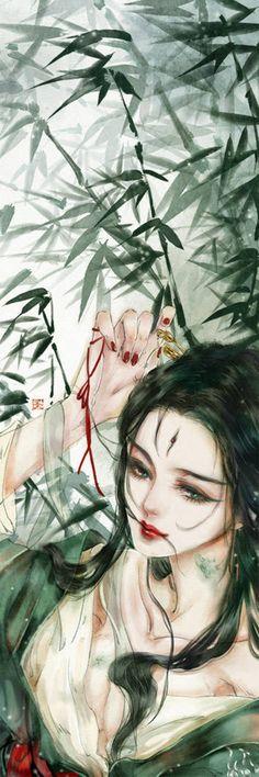妖精书签——小青 未侵可删