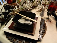 ~Tablescapes By Diane~: Japanese Dinner.