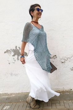 Chal de algodón top de mujer de verano chal para boda | Etsy Summer Cover Up, Thin Ribbon, Ribbon Yarn, Wide Pants, Poncho Sweater, The Chic, Have A Great Day, Summer Dresses, Wedding Dresses