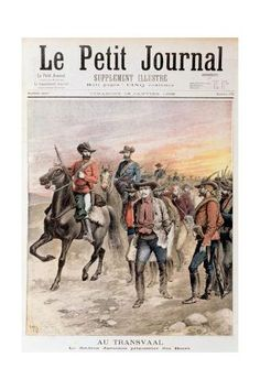 Giclee Print: Leander Starr Jameson Taken Prisoner after the Failure of the Jameson Raid, South Africa, 1896 : 24x16in