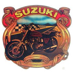 Vintage Iron-On/Suzuki Classic Iron On