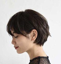 awesome Damen-Choise Kurze Braune Haare