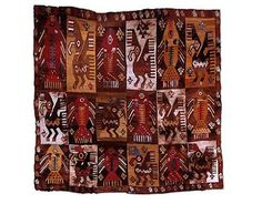 manto de la cultura chimu  tejido con plumas de ave  Peru prehispanico