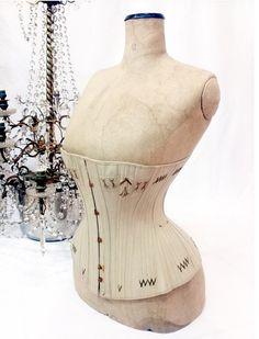 Extremly rare late 1800s corset // antique corset // victorian corset // edwardian corset // 20s // rare corset // on Etsy, $839.25 AUD