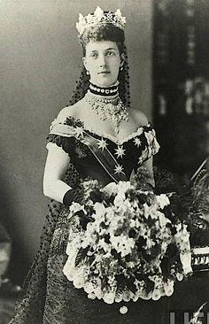 Queen Alexandra in Jubilee dress