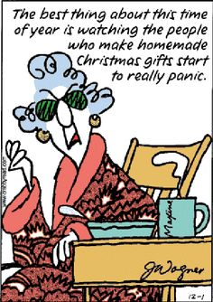 That's me!!! How many quilts do you have to finish before Christmas?