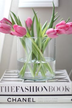I buy myself tulips every week starting in January ... gives me little peak at Spring during the cold winter months - a