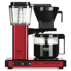 Technivorm Moccamaster Coffee Brewer KBG741 - Red