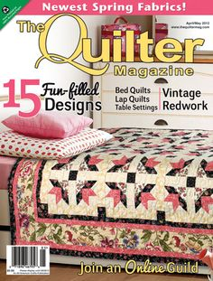 Looking for classic, traditional quilt projects? The Quilter Magazine fits the bill!