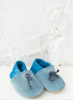 Handmade baby shoes from Morocco 08