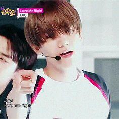Music Core 150606 : Love Me Right - Baekhyun Park Chanyeol, Baekhyun, Asian Boy Band, Hard To Say Goodbye, Shimmy Shimmy, Yoseob, Taecyeon, Exo Korean, Puppy Face