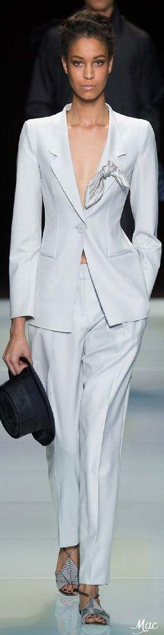 Giorgio Armani Fashion Show Details