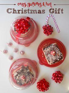 last minute christmas gift peppermint swirl cake