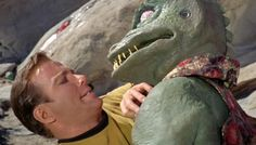 "Kirk vs Gorn. ""Arena"" is an episode of the original science fiction television series Star Trek. It is a first season episode 18, production 19, first broadcast January 19, 1967"