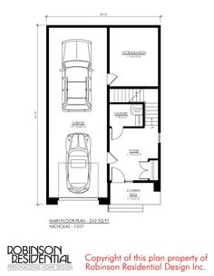 Duplex House Plans, Dream House Plans, Small House Plans, Garage Apartment Plans, Garage Apartments, Mechanical Room, Tiny House Stairs, Beautiful House Plans, Model House Plan