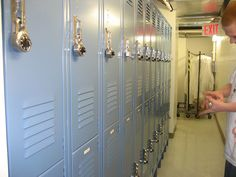 Lockers being installed in Soho NYC by Gales Industrial Supply. 732 Lockers available with combination padlocks or built in combination locks. Locks come with control charts, master keys and each locks combination # can be changed as employee's change. Master Key, Combination Locks, Steel Locker, Your Space, Storage Solutions, Space Saving, Lockers, Locker Storage, Padlocks