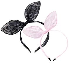 Lace Bunny Bow