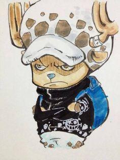 """""""Doc°Chøpper""""  en cosplay  """"Law"""" • {Law Tafalgar} ~  Chopper Tony Tony  ~ ⚓️ One Piece ⚓️"""