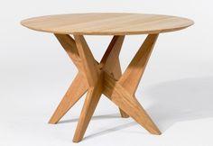 Cross pedestal table Nr 1