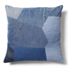 Cojines de navidad en patchwork jeans