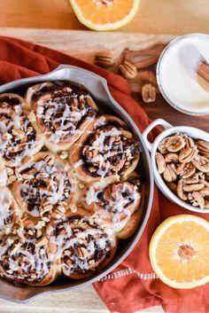 Orange Cinnamon Sticky Buns Recipe