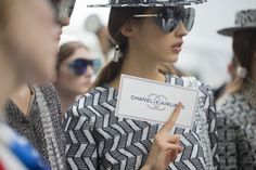 Chanel SS16 via @voguerunway.