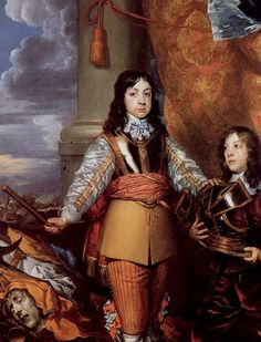 Charles II when Prince of Wales by William Dobson, 1642 - 1600–50 in Western European fashion - Wikipedia, the free encyclopedia