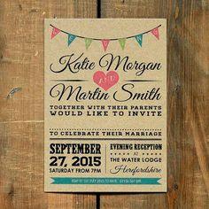 invitaciones de bodas originales - Buscar con Google