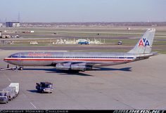 American Airlines Boeing 707-323 Boeing 707, Boeing Aircraft, Passenger Aircraft, Eagle Airlines, Retro Airline, Airplane Photography, Air Festival, Commercial Aircraft, Civil Aviation
