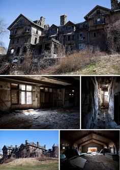 Top 10 Abandoned, Amazing and Unusual Old Homes   Femour.com
