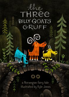 Three Billy Goats Gruff on Behance