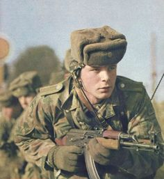 East German soldier, 1969.