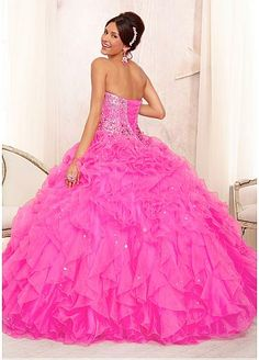 Fabulous Organza Sweetheart Neckline Floor-length Ball Gown Prom Dress