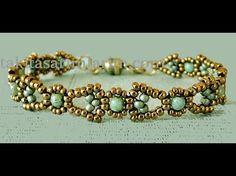 Çaprazlama Tekniğiyle Bileklik Nasıl Yapılır Beaded Necklace Patterns, Beaded Bracelets Tutorial, Bracelet Patterns, Beaded Earrings, Seed Bead Necklace, Seed Bead Bracelets, Seed Bead Jewelry, Diy Schmuck, Bijoux Diy